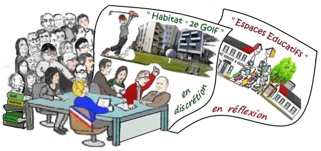 Dessin humor CM majorité+opposition_Lettre2008_p1_politique fonciere_nov2017_vdef cadree