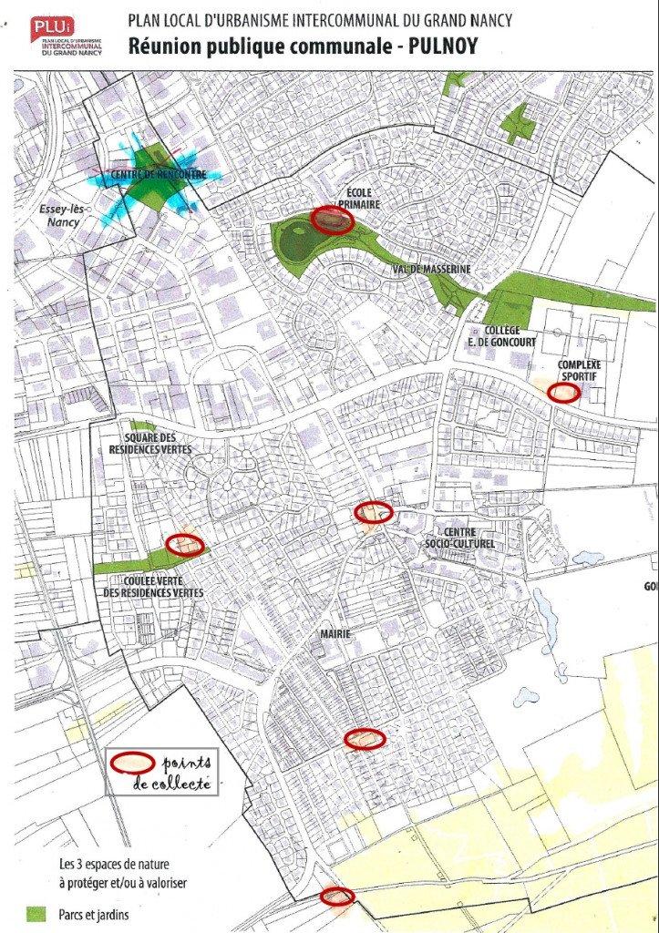 Copie _Plan Pulnoy Points de collecte_ramassage sapins_janv2008