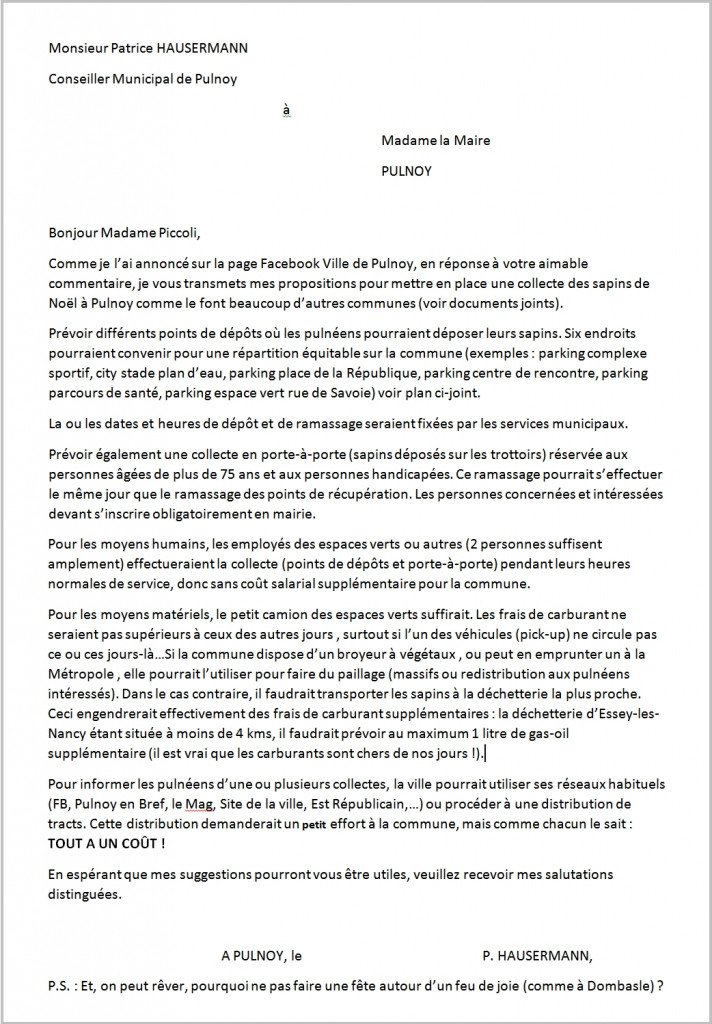 Copie lettre_PH_à_MP_ramassage sapins_janv2008