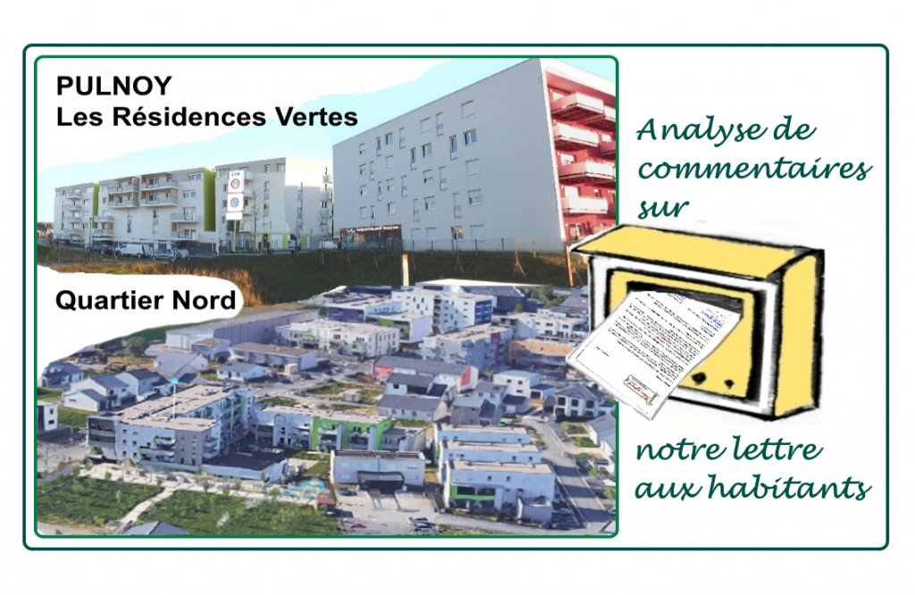 Pulnoy_Residences Vertes_Quartier Nord_Anlyse commentaires courrier
