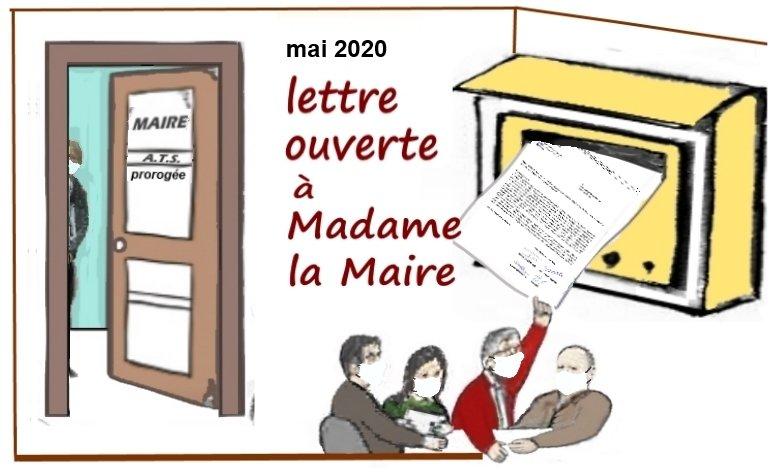 Dessin humor_lettre ouverte a la maire_mai2020